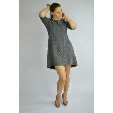 Ciepła, jesienno-zimowa sukienka