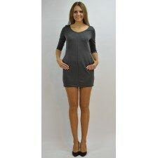 Tuniko-sukienka z kieszeniami