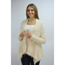 Sweter oversize kudłaty
